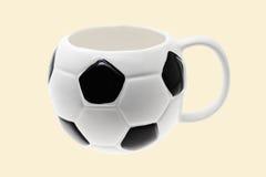 fotboll rånar fotboll arkivbild