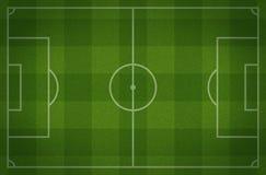 Fotboll sätter in Arkivfoto