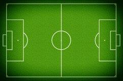 Fotboll sätter in Arkivbild