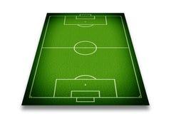 Fotboll sätter in Fotografering för Bildbyråer