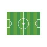 Fotboll sätter in illustrationen Royaltyfri Foto