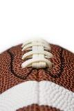 fotboll snör åt Arkivfoto