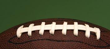 fotboll snör åt arkivfoton