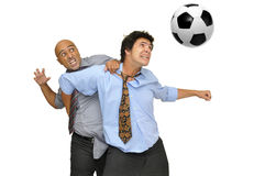 fotboll som jag älskar Royaltyfri Bild