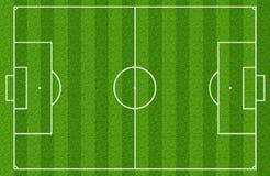Fotboll sätter in Royaltyfria Foton
