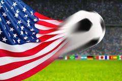 Fotboll U S A Royaltyfri Fotografi
