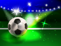 Fotbollanblick Royaltyfria Bilder