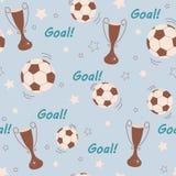 Fotbollbaclgrpund Royaltyfri Bild
