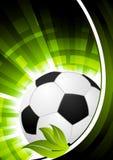 Fotbollbakgrund vektor illustrationer