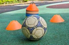 Fotbollboll Royaltyfri Bild