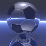 Fotbollboll Arkivfoto