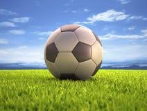 Fotbollboll Fotografering för Bildbyråer