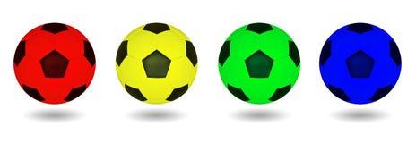 Fotbollboll. arkivfoton