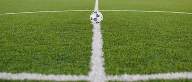 Fotbollfält 02 royaltyfria foton