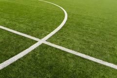 Fotbollfält Royaltyfri Foto