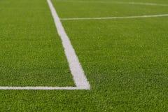 Fotbollfält Royaltyfri Fotografi