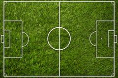 Fotbollfält Royaltyfria Bilder