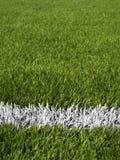 Fotbollfälts linjer Royaltyfri Fotografi