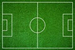 Fotbollfält Fotografering för Bildbyråer