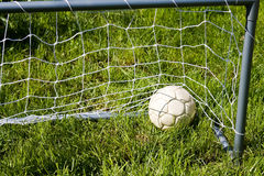 fotbollfotboll Royaltyfri Fotografi
