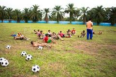 Fotbollfotboll Royaltyfria Foton