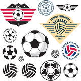 Fotbollfotbollboll Arkivbild