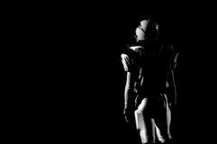 fotbollfriday natt Arkivfoto
