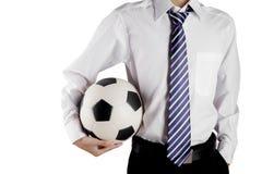 Fotbollgeneral manager arkivbilder