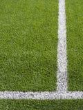 Fotbollhörnmarkering Royaltyfri Foto