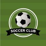 Fotbollklubba Fotografering för Bildbyråer