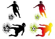 fotbollkvinnor Royaltyfria Bilder
