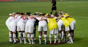 fotbollkvinnor Royaltyfri Fotografi