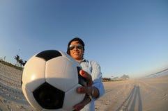Fotbolllagspelare Marta royaltyfri foto