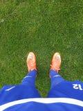 Fotbollliv Royaltyfri Foto
