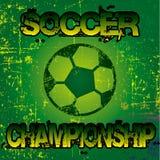 Fotbollmästerskapsymbol Royaltyfri Foto