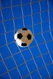fotbollmål Arkivfoto