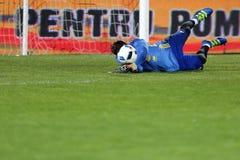 Fotbollmålvakt - Iker Casillas royaltyfria foton