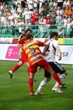 fotbollmatch Royaltyfria Bilder