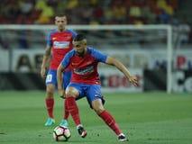 "FotbollRomania's Liga 1†""Steaua Bucuresti †""Concordia Chiajna royaltyfria bilder"