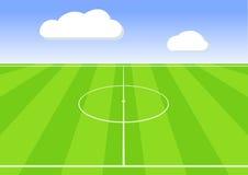 Fotbollsarena Royaltyfria Foton