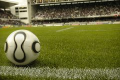 fotbollsarena Arkivfoto
