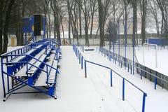 Vinterstadion Arkivfoton