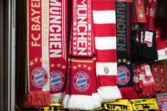 Fotbollslagscarves för FC Bayern Munchen Royaltyfri Bild