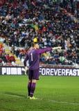 Fotbollsmatch mellan Italien och EIRE Under-21 arkivfoto