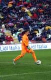 Fotbollsmatch mellan Italien och Republiken Irland Under-21 Royaltyfri Fotografi