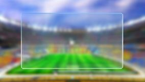 Fotbollsmatchschema Royaltyfri Fotografi