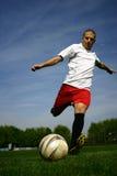 Fotbollspelare #1 Arkivfoto