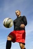 Fotbollspelare #3 arkivfoto