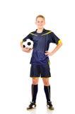 Fotbollspelare royaltyfri bild