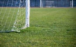 fotbollsplanfotboll Royaltyfri Bild
